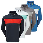 9907 Footjoy Jersey Chest Stripe Chill-Out Pullover